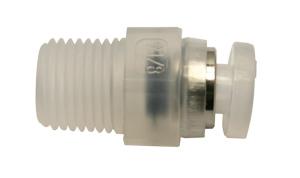 Straight Adaptor PP 4mm
